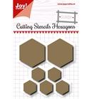 Scrap Snijstencil - Hexagons    per set