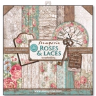 Roses and Laces    per pak