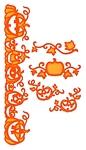 Pumpkin Accents    per set