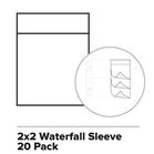 Waterfall sleeve 2 x 2 x 20