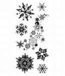 Snowflakes a-plenty    per vel