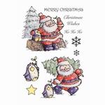 Santa And Penguin    per vel
