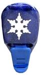 Sapphire snowflake    per stuk