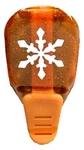 Amber Snowflake    per stuk