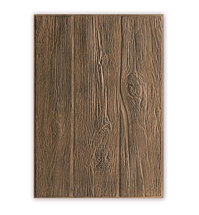 3-D Embossing Folder  Lumber