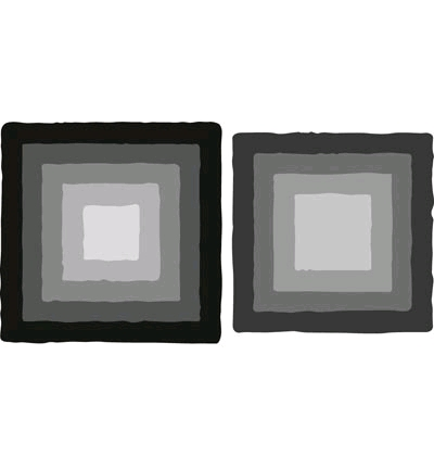 Basic distressed square