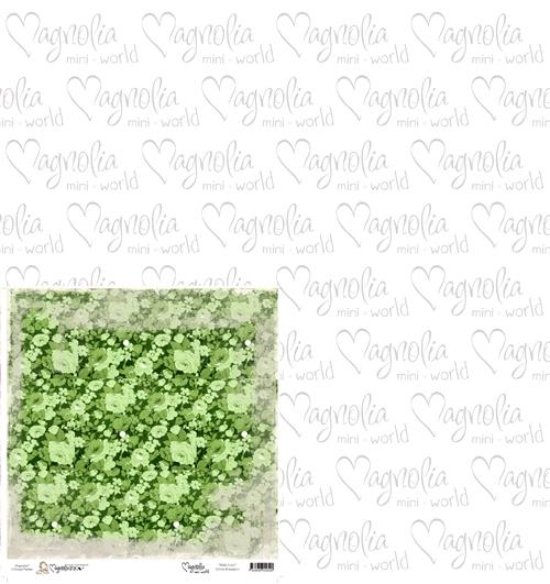 Green Romance  15 x 15