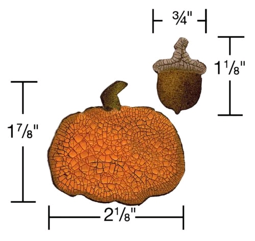 mini Acorn & Pumpkin