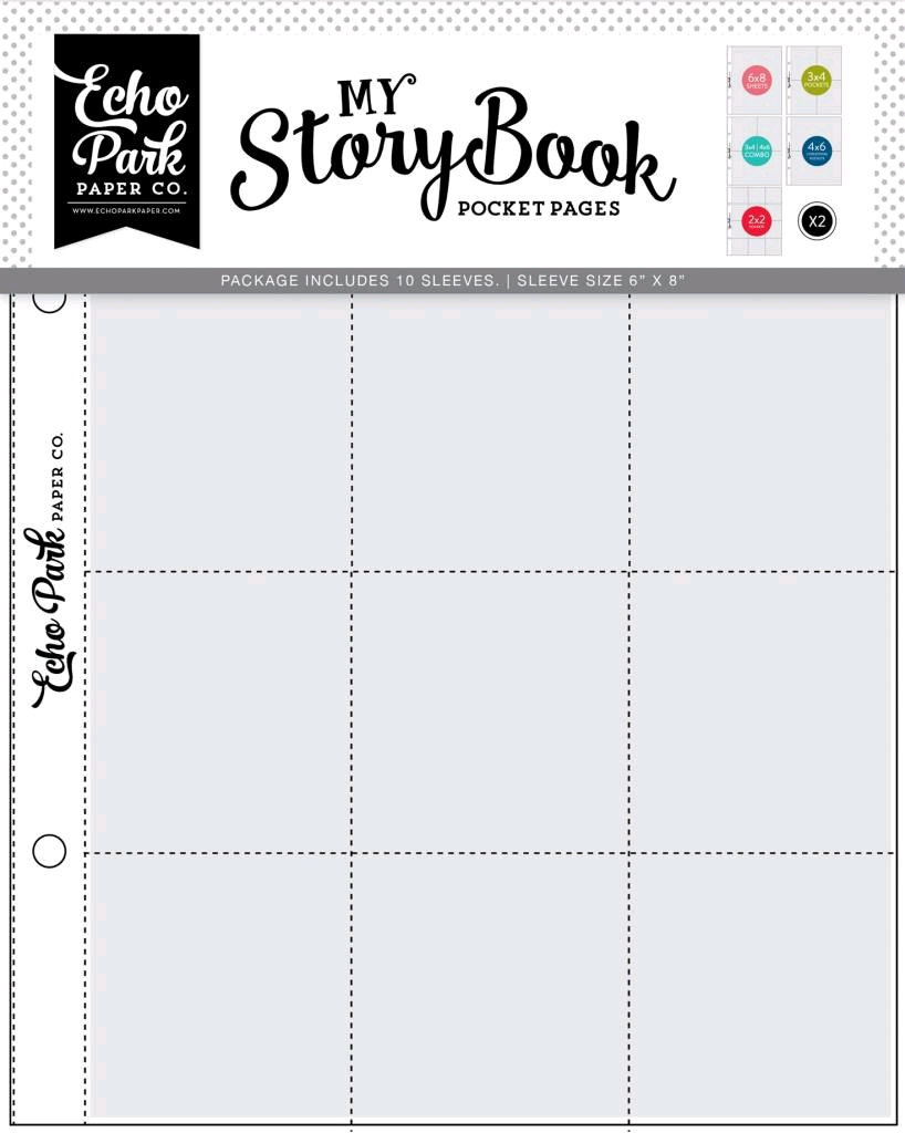 My StoryBook pocket pages Combopack 10 sleeves