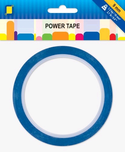 Power Tape  dubbelzijdig tape 9 mm