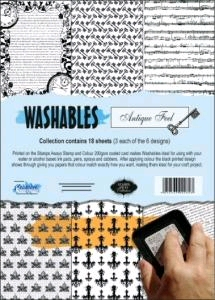 Washables Antique Feel 6st.