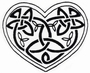 Celtic Knot Heart   per stuk