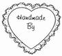 Handmade By...   per stuk