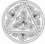 Sensational Circle Coat of Arms   per stuk