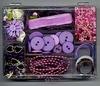 Deco set paars