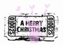 Ticket A Merry Christmas   per stuk