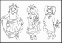 Tiny's Cear Stamps Little Sweethearts 2   per vel
