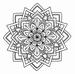 Medallion Poinsettia    per stuk