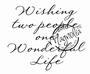 Wishing Two People