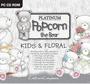 Popcorn the Bear Platinum Kids & Floral   per stuk