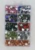 Hartvormige plaksteentjes 9 kleuren   per doosje