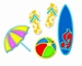 Surf's Up    setje van 5