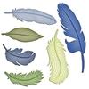 Feathers   setje van 6