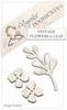 Vintage Flowers & Leaf   setje van 2