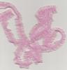 Roze  met glans  1,5 cm