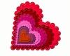 Classic Scallopped Heart