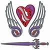 Fallen Angel   per stuk