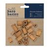 Bare Basics Wooden Bobbins   per set