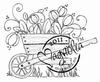 Tulip Wheelbarrow