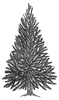 Dennenboom   per stuk