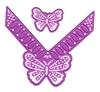 vlinder + vlinderhoek   per set