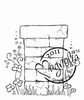 Flower Wall Post   per stuk