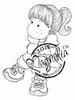 Tilda with Ponytail   per stuk