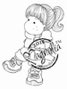 Tilda with Ponytail