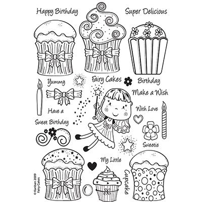 Fairy Cakes   per set