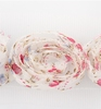 Flower Ribbons White, pink, bleu
