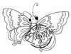Large Butterfly mini
