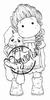 Tilda with hanging Rabbit mini
