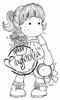 Tilda with Straw Hat mini