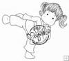 Karate Tilda   per stuk