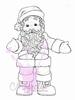 Santa Hug mini   per stuk