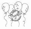 Balloon Background mini
