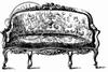 Vintage Couch mini   per stuk