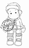 Edwin Santas little helper mini