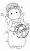 Tilda as Christmas Angel mini   per stuk