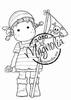 Tilda with Jolly Roger mini   per stuk
